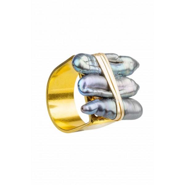 Bee Ring-Grey