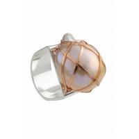 Cara Ring-Peach pearl