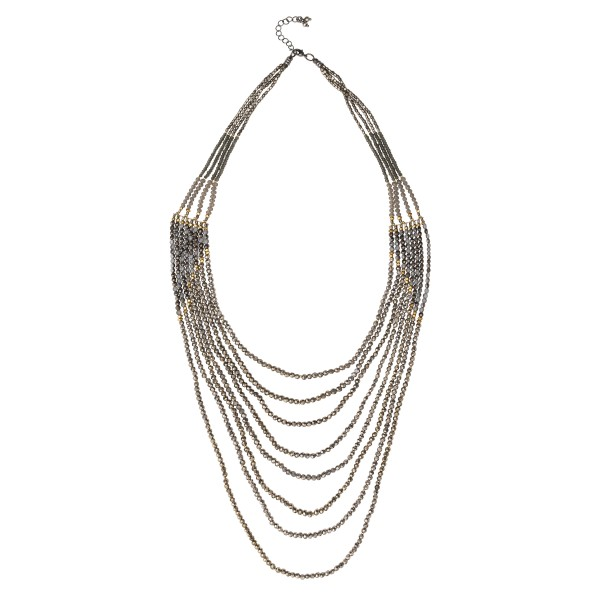 Evie Necklace-Silver