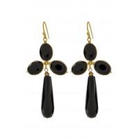 Hunter Earrings - Black