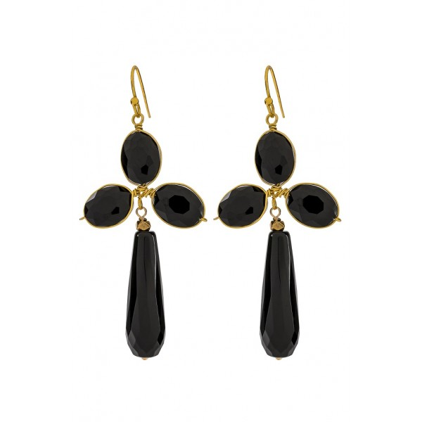 Hunter Earrings - Black