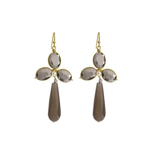 Hunter Earings - Silver