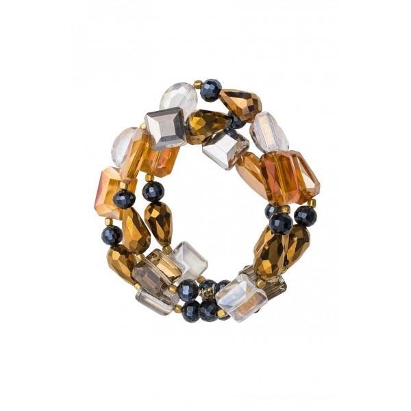 Jaxon Bracelet Gold/Pink