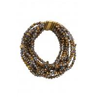 Nora Stretch Bracelet-Bronze