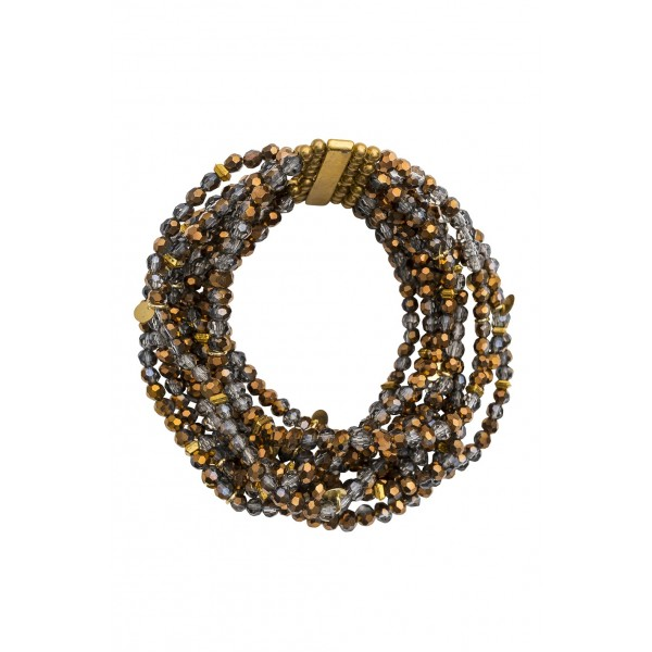 Nora Stretch Bracelet-Bronze