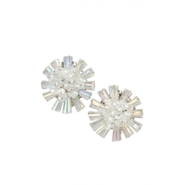Ice Queen Clip-On Earrings
